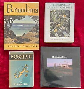 BEAUTIFUL BERMUDA BOOKS - 1932, 1946, 1971 & 2006 - 4 BOOKS
