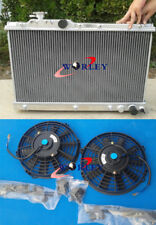 For Toyota Celica ST205 3S-GTE GT4 1994-1999 All Aluminum Radiator + 2 Fans