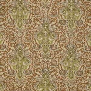 Portfolio CANDICE OLSON PAISLEY Brown Fabo Leaf Home Decor Drapery Fabric BTY