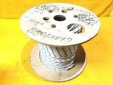 NEW 550' SPOOL SIMCONA COLEMAN CABLE AWM WHITE / BLUE #14 AWG HOOK UP LEAD WIRE