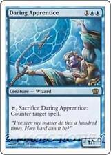 DARING APPRENTICE Eighth Edition MTG Blue Creature — Human Wizard RARE