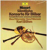 Mozart: Konzerte Für Instrumente IN Elring/ Samtliche/ Bohm, Wiener - LP