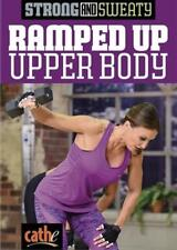 CATHE FRIEDRICH STRONG AND SWEATY RAMPED UP UPPER BODY DVD WORKOUT NEW SEALED