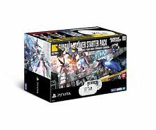 NEW FW3.60-2.61 PS Vita ZA12 Wi-Fi Console GUNDAM Breaker Starter Pack Limited