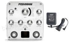 Fishman Aura Spectrum Guitar Pedal Preamp/EQ/DI w/Tuner, FREE 910R AC Adapter