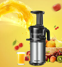 200W Cold Press Juicer Fruit Vegetable Maker Slow Juicer Masticating Extractor