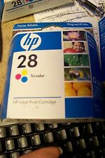 nos hp28 tri-color ink cartridge
