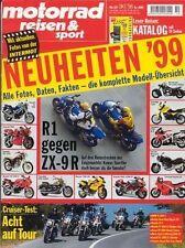 MRS9810 + HONDA F 6 C vs VT 1100 C3 und andere + motorrad reisen & sport 10/1998