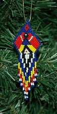 Hand Beaded Dancer Doll Christmas Ornament