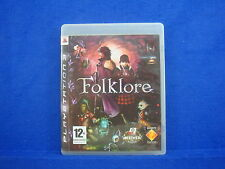 ps3 FOLKLORE An RPG Adventure Game Playstation PAL UK Version REGION FREE