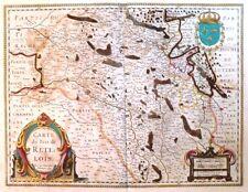 """JAN JANSSONIUS, """"Carte du Pais de Retelois"""", XVIIème"""