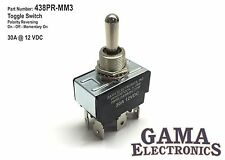 30 Amp Toggle Switch Polarity Reversing DC Motor Control On-Off-Momentary On