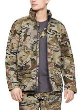 $180 UNDER ARMOUR GRIT HUNTING JACKET 1320252-999 BARREN CAMO 2XL
