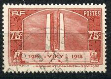 PROMO / STAMP /  TIMBRE FRANCE OBLITERE  N° 316 MONUMENT DE VIMY