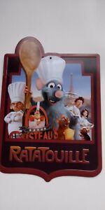 Ratatouille Metal Plaque Disneyland paris