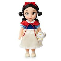 Officiel Disney Store Neige Blanc Animateur Collection Poupée 39cm Grand