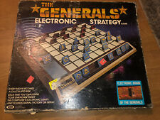 1979 Vintage The Generals Electronic Strategy board Game COMPLETE - Working
