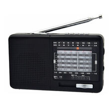 XHDATA D-328 Portable Radio FM AM SW Band MP3 Radio with TF Card Jack