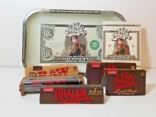 Bundle - 7 Items - Wiz Khalifa Tray Limited Edition RAW Loud Pack Papers