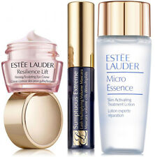 Estee Lauder Resilience Lift Eye,Sumptuous Mascara and Micro Essence Lotion Trio