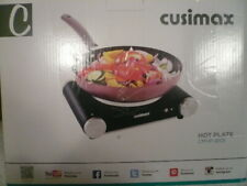 Cusimax Electric Hot Plate Portable Stove Countertop Single Burner 1500W