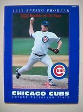 Chicago Cubs Spring Training Baseball Program MLB Kerry Wood Rookie of the Year