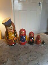 Russian Nesting Dolls. Set Of 5