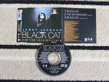 JANET JACKSON CD SINGLE BLACK CAT AMCD 587 THE 1814 MEGAMIX