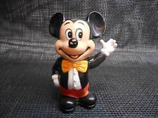 Old Vtg Walt Disney Productions Mickey Mouse Still Piggy Bank Advertising Korea