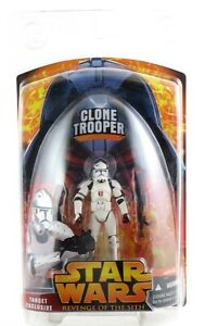 Star Wars Revenge of the Sith Clone Trooper Action Figure Target Exclusive NEW!