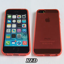 Transparent Clear Soft Silicone TPU Rubber Gel Case Cover For Apple iPhones