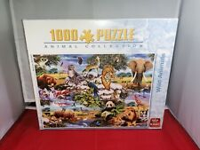King Animal World Jigsaw Puzzle 1000 Pieces 'Wild Animals' complete