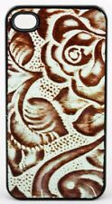 Angel Ranch Turquoise & Brown iPhone 4 / 4s Snap-on Shell Case Item Ph763 New