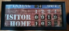 Baseball FRAMED art New With Tags