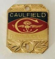 Caulfield Returned Services RSSA Club Members Pin Badge Rare Vintage (R9)