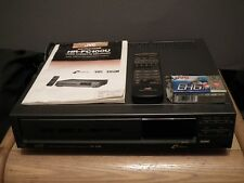 JVC VHS / VHS-C VCR HR-FC100U RECORDER PLAYER & REMOTE *TESTED* *SEE VIDEO DEMO*