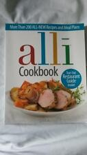 ALLI COOKBOOK Paperback (200+ recipes/meal plans Plus Restaurant guide) Pre-Own