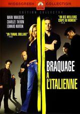 Braquage à l'Italienne (Mark Wahlberg, Charlize Theron, Edward Norton)  - DVD