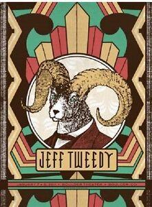 Jeff Tweedy Gig Poster, Boulder 2011 (Original Silkscreen) 18 x 24' Print
