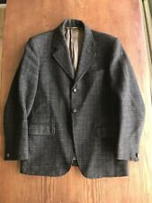 Vintage Harris Tweed Blazer Jacket 36 S