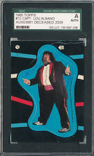 SGC SIGNED 1985 TOPPS WWF CAPTAIN LOU ALBANO DECEASED 7038