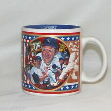 MICKEY (MANTLE) IN THE SIXTIES COFFEE MUG 1993 MLB BASEBALL COLLECTIBLE SPORTS