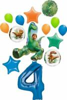 The Good Dinosaur Party Supplies Arlo and Spots 4th Birthday 14 pc Balloon Bo...