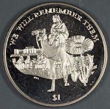 "British Virgin Islands 2014 ""WWI Lawrence of Arabia"" $1 Coin"