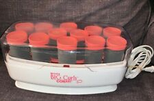Conair More Big Curls 12 Jumbo Hot Rollers Curlers Pageant Show Dance NO CLIPS