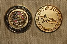 Navy Personal Command Challenge Coin