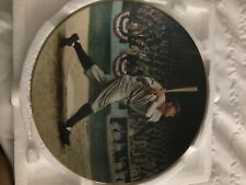 1992 Delphi Babe Ruth The Called Shot Collectors Plate With Card Coa #77E