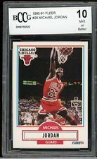 1990-91 Fleer #26 Michael Jordan BCCG 10 MINT. Chicago Bulls