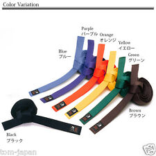 NEW KARATE Belt OBI KARATE GI 7color No3 250cm 98.4inch Japanese from Japan F/S