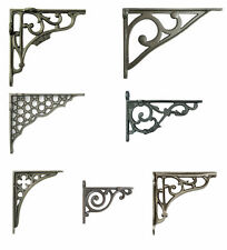 Single Cast Iron Shelf Bracket Antique Rustic Victorian Wall Brackets (10-20cm)